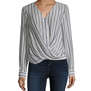 A.N.A Long Sleeve Relaxed Fit Button-Down Shirt
